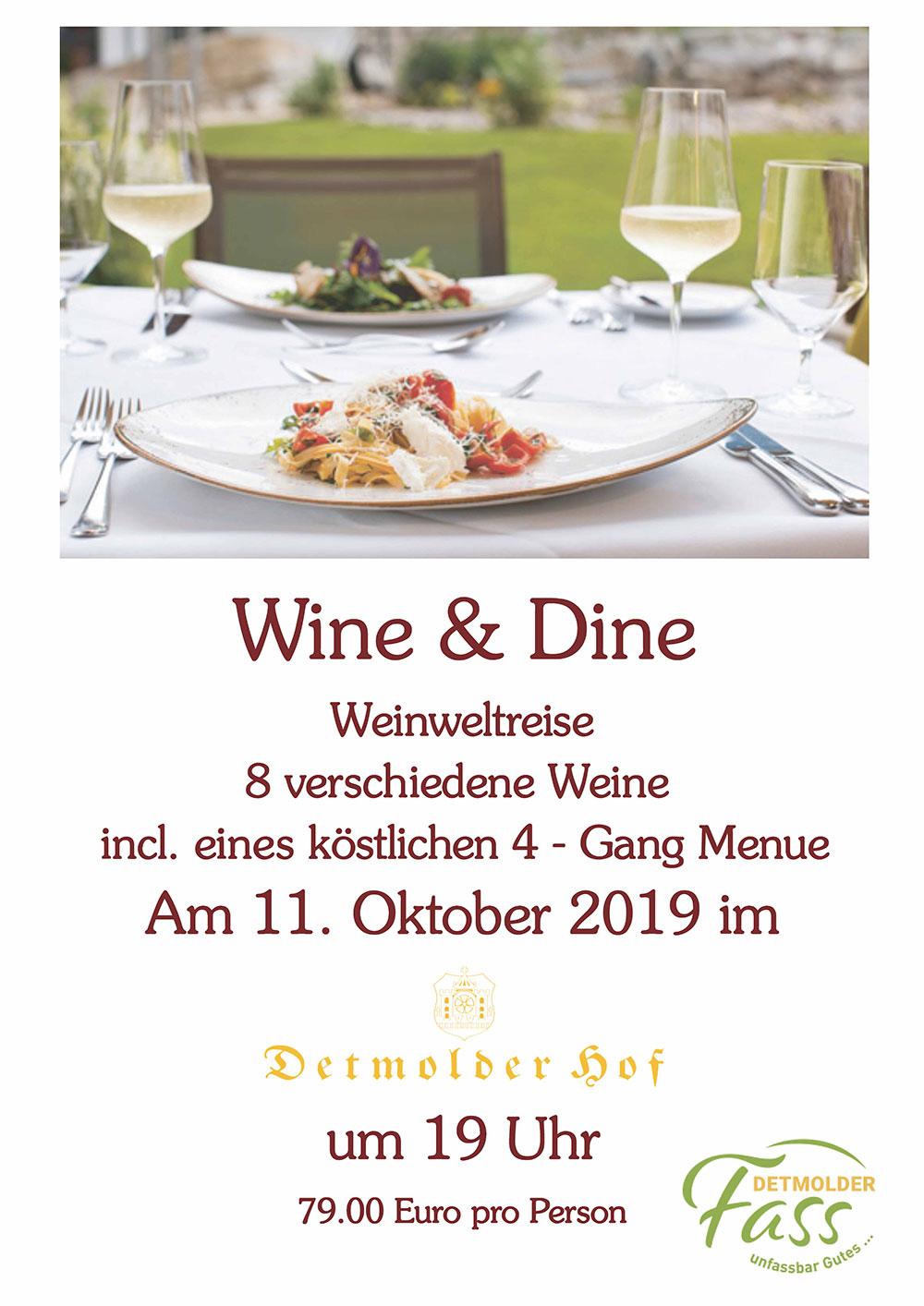 Wine & Dine Weinweltreise