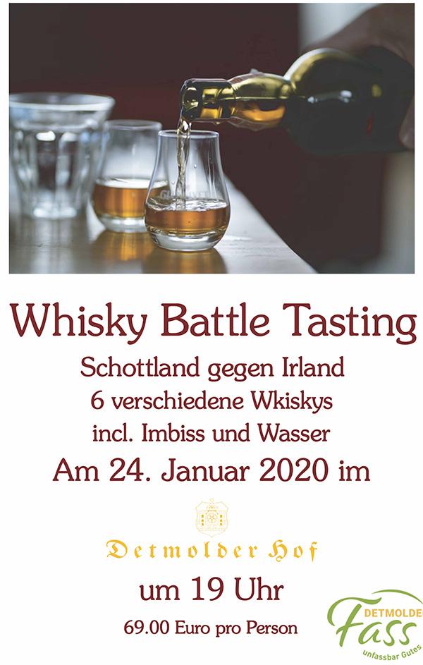 Whisky Battle Tasting